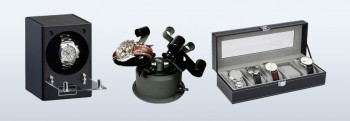 Watch winder & jewellery cases