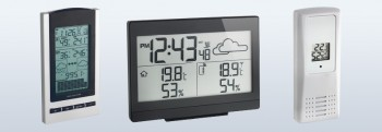 Electronic weather instruments