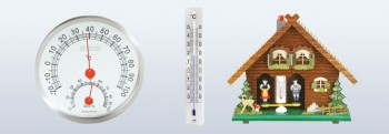Mechanical weather instruments