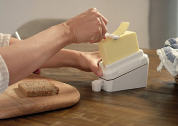 Butterleaf - cuts butter perfectly