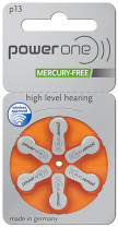 Power One 13 Hearing aid battery