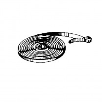 Mainspring with tab L:670mm W:4mm T:0.3mm