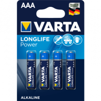 4 Battery Size AAA, LR 3