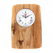 Matured forest clock, Made in Germany, white dial
