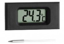 Digital built-in thermometer
