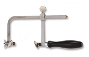 Saw bow with clamping bolt, projection 80 mm