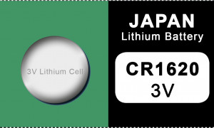 Japan 1620 lithium button cell