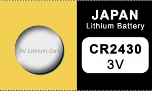 Japan 2430 lithium button cell