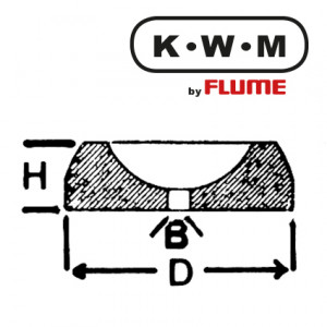 KWM-press-fit bearings brass KL254, hole Ø 0.40 external Ø 1.80 height 0.70 mm, content 10.00 Unit