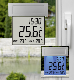 TFA Solar Window Thermometer