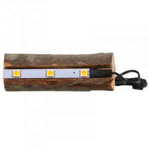 Tree Trunk with indirect LED lighting