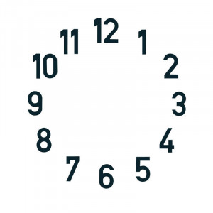 Hour markers