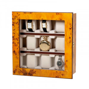 Attractive Vitrine for 9 wristwatches