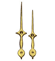 Hand pair without chuck Lance yellow MHL:82mm