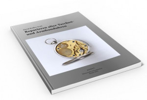 Book Repairing Old Pocket and Wrist Watches