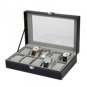 Watch collection box for 10 watches