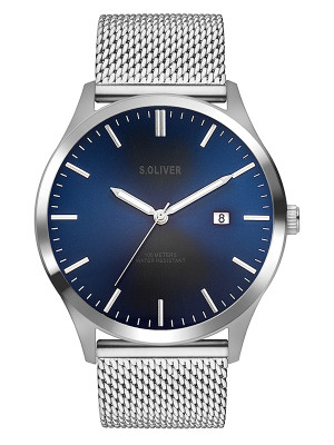 s.Oliver stainless steel silver SO-3478-MQ