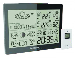 TECHNOLINE radio controlled weather station incl sensor