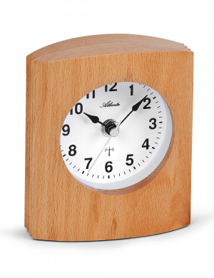 Atlanta 3131 Radio controlled table clock wood