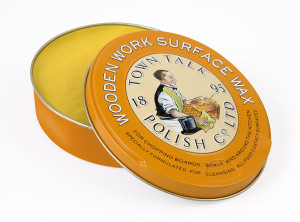 TOWN TALK Renowned Wooden Work Surface Wax 150g
