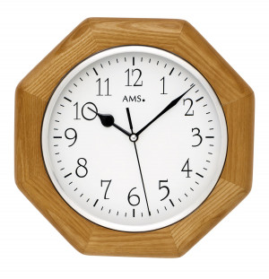 AMS radio controlled wall clock Vaduz