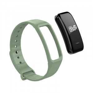 Replacement strap for Fitnesstracker, green