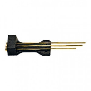 Rod gong set bim-Bam 3 rods for wall clock l: 470