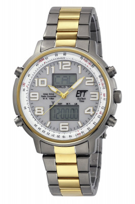Eco Tech Time Solar Drive Radio Controlled Professional Gents