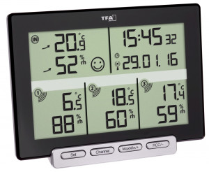 TFA Wireless Thermo-Hygrometer Multi-Sens