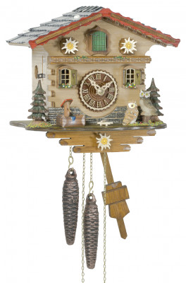 Cuckoo clock Bündnerland with 1-day-movement