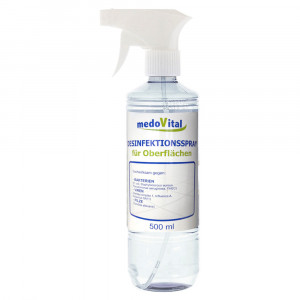 Disinfecting spray for surfaces, 500ml