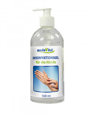 Disinfectant gel for the hands, 500ml