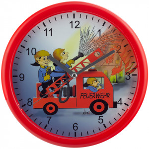 Children's Wall Clock, Ø 25cm, Quartz
