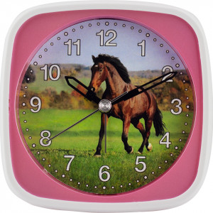 Children's Alarm Clock Horse, sweeping second