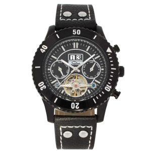 SELVA Men's Watch »Vito« - Big Date - black