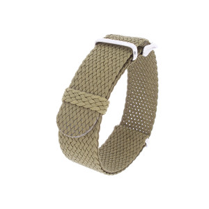Nato perlon strap army-green 20mm