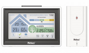 Weather station radio controlled, better indoor climate