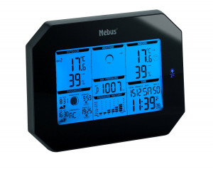 Weather station radio controlled