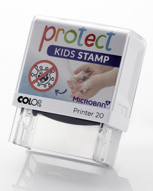 Protect Stamp - stamping - washing - protecting