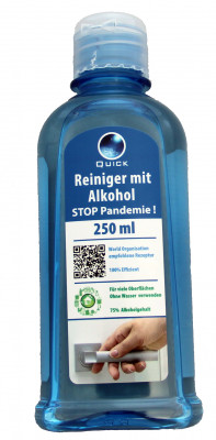 Hand and surface cleaner, 250ml