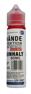 Disinfectant spray for the hands, 60ml