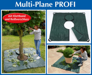 Multi-tarpaulin professional for gardening