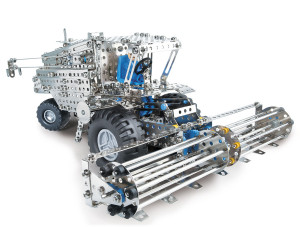 eitech Metal construction kit Combine harvester, tractor