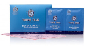 Mr Town Talk silver cleaning kit