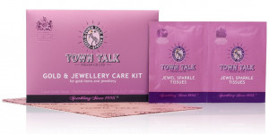 Mr Town Talk gold cleaning kit