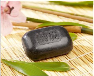 Activated charcoal soap set of 3