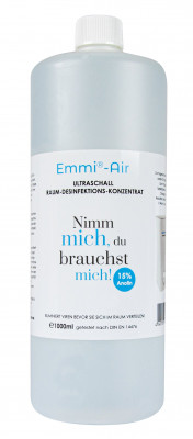 Room disinfectant for humidifiers