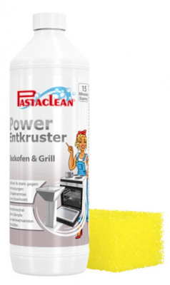 Pastaclean Power encruster for oven and grill, 1 liter, incl. accessories