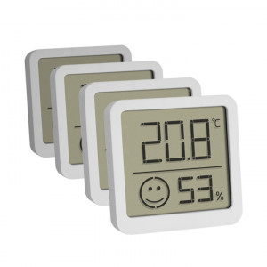 Digital thermo-hygrometer, set of 4