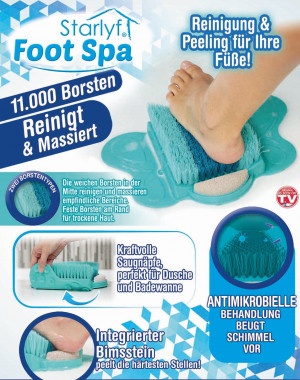 Foot Spa - cleansing and peeling for your feet